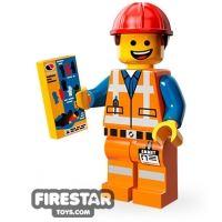 Product shot LEGO Minifigures - Hard Hat Emmet