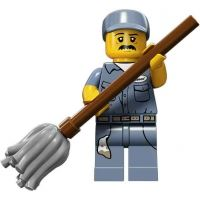 Product shot LEGO Minifigures - Janitor
