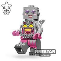 Product shot LEGO Minifigures - Lady Robot