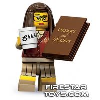 Product shot LEGO Minifigures - Librarian