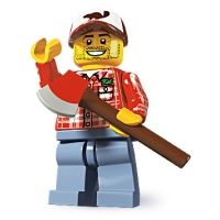 Product shot LEGO Minifigures - Lumberjack