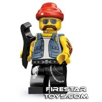 Product shot LEGO Minifigures - Motorcycle Mechanic