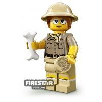 Product shot LEGO Minifigures - Paleontologist