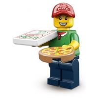 Product shot LEGO Minifigures - Pizza Delivery Man