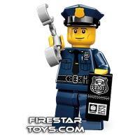 Product shot LEGO Minifigures - Policeman