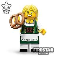 Product shot LEGO Minifigures - Pretzel Girl