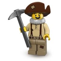 Product shot LEGO Minifigures - Prospector