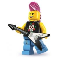 Product shot LEGO Minifigures - Punk Rocker