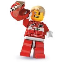 Product shot LEGO Minifigures - Racing Car Driver