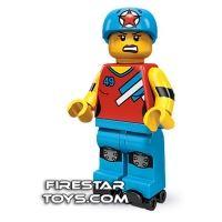 Product shot LEGO Minifigures - Roller Derby Girl