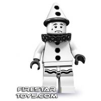 Product shot LEGO Minifigures - Sad Clown