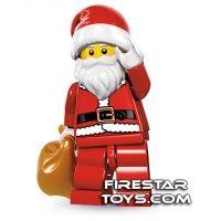 Product shot LEGO Minifigures - Santa
