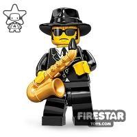 Product shot LEGO Minifigures - Saxophone Player