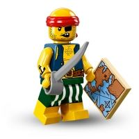 Product shot LEGO Minifigures - Scallywag Pirate