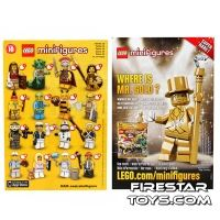 Product shot LEGO - Minifigures Series 10 Collectable Leaflet