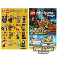 Product shot LEGO - Minifigures Series 12 Collectable Leaflet