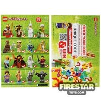 Product shot LEGO - Minifigures Series 13 Collectable Leaflet