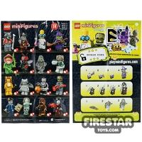 Product shot LEGO - Minifigures Series 14 Collectable Leaflet