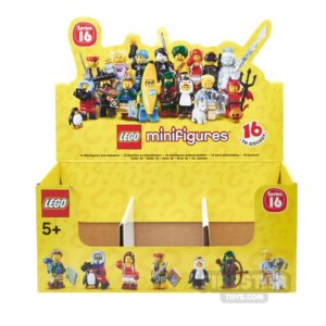 Product shot LEGO - Minifigures Series 16 Collectable Shop Display Box