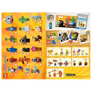 Product shot LEGO - Minifigures Series 18 Collectable Leaflet
