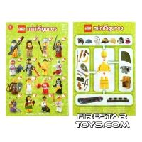Product shot LEGO - Minifigures Series 3 Collectable Leaflet