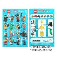 Product shot LEGO - Minifigures Series 5 Collectable Leaflet