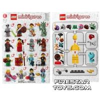 Product shot LEGO - Minifigures Series 6 Collectable Leaflet