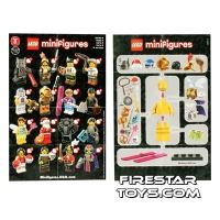 Product shot LEGO - Minifigures Series 8 Collectable Leaflet