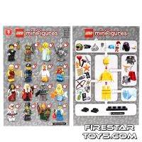 Product shot LEGO - Minifigures Series 9 Collectable Leaflet