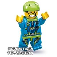 Product shot LEGO Minifigures - Skydiver