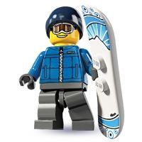 Product shot LEGO Minifigures - Snowboarder Guy