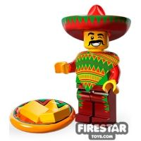 Product shot LEGO Minifigures - Taco Tuesday Man