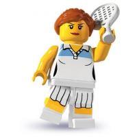 Product shot LEGO Minifigures - Tennis Player