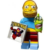 Product shot LEGO Minifigures - The Simpsons 2 - Comic Book Guy