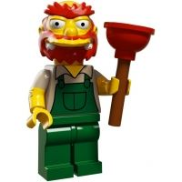 Product shot LEGO Minifigures - The Simpsons 2 - Groundskeeper Willie