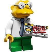 Product shot LEGO Minifigures - The Simpsons 2 - Hans Moleman