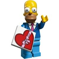 Product shot LEGO Minifigures - The Simpsons 2 - Homer