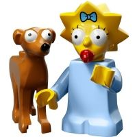 Product shot LEGO Minifigures - The Simpsons 2 - Maggie