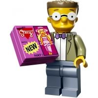Product shot LEGO Minifigures - The Simpsons 2 - Smithers