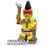 Product shot LEGO Minifigures - Tomahawk Warrior