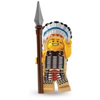 Product shot LEGO Minifigures - Tribal Chief