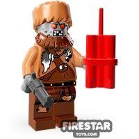 Product shot LEGO Minifigures - Wiley Fusebot