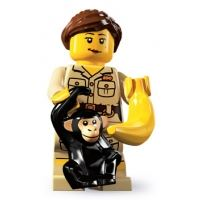 Product shot LEGO Minifigures - Zoo Keeper