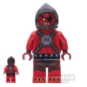 Product shot LEGO Nexo Knights Mini Figure - Ultimate Beast Master