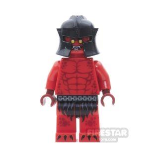 Product shot LEGO Nexo Knights Mini Figure - Crust Smasher