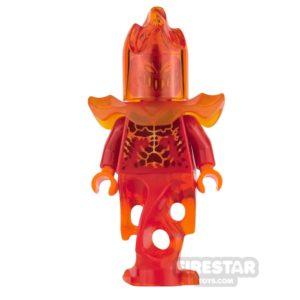 Product shot LEGO Nexo Knights Mini Figure - Flama