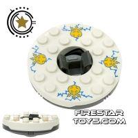 Product shot LEGO - Ninjago Battle Spinner - White
