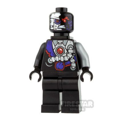 Product shot LEGO Ninjago Mini Figure - Nindroid - Neck Bracket