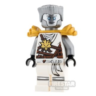 Product shot LEGO Ninjago Mini Figure - Zane - Armour