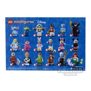 Product shot LEGO - Disney Minifigures Collectable Leaflet